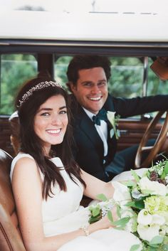 T&C Exclusive: Kiel James Patrick and Sarah Vickers' Magical New England Wedding  - TownandCountryMag.com
