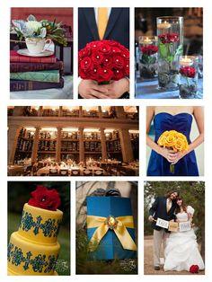 """Beauty and the Beast"" Aisle Ready: Fairy Tale Incorporated Weddings"