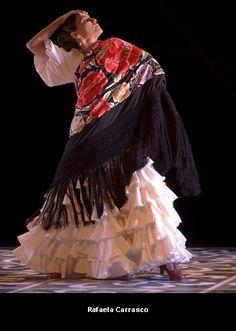 Flamenco dancer Rafaela Carrasco.