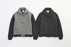 SHAWL COLLAR STADIUM JACKET... PRICE : ¥46,000-(+TAX)