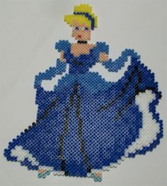 Cinderella perler beads by Mary B. - Perler® | Gallery