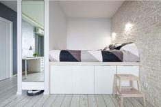 58 Podium bed for bedroom decoration - Home Design Ideas Large Bedroom, Modern Bedroom, Bedroom Decor, Small Room Design, Aesthetic Room Decor, New Room, House Design, Interior Design, Furniture