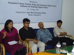 Workshop on 'Integrated Library System: Koha' and 'Greenstone Digital Library Software' at East West University | East West University Library
