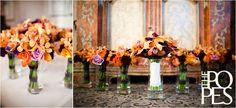 orange_orchids_purple_calla lilies_wedding_flowers_seattle floral design