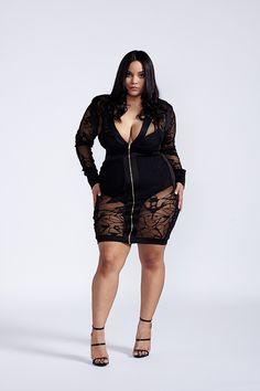 Plus bodycon dress long sleeve