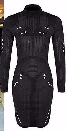 Home of Fashion Celebrity Style Futuristic Look Turtle Neck Side Split Bodycon Dress (SM (8-10), Black) The Home of Fashion http://www.amazon.co.uk/dp/B01DA4KB3I/ref=cm_sw_r_pi_dp_H.t8wb0JVH507