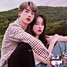 Bts Girl, Bts Boys, Kpop Couples, Blackpink And Bts, Bts Imagine, Korean Couple, Blackpink Jisoo, Move Mountains, Soyeon