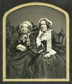 Mother and daughter 1855.