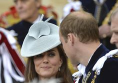 Catherine photos: The Order of the Garter Service William & Kate -Look of Love