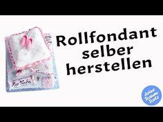 Rollfondant selber herstellen: Wie macht man Zuckerteig / Zuckerüberzug selber? - Tortendeko - YouTube