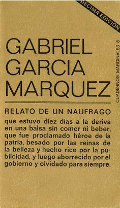 """""""Relato de un náufrago"""" de Gabriel García Marquez"""