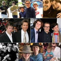 ❤️ Gary Oldman with sons