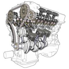 Jeep Grand Cherokee Rear Suspension Diagram moreover Internal Engine Diagram likewise Chrysler Sebring Starter Replacement additionally Ford 2 3 Timing Marks together with Ford EGR Valve Location. on ford ranger 4 cylinder engine diagram