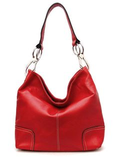 Perfect Rouge Hobo on Emma Stine Limited. This is a very small bag.   BAG SIZE: L 11.5 * H 12 * W 4.5