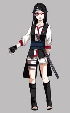 Sarada Uchiha New Outfit ♥♥♥ #Beautiful