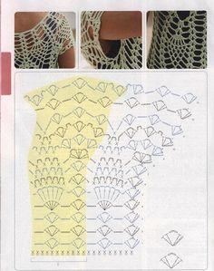 Making this next! Patrones Crochet: Jersey de Red Superposicion de Otoño