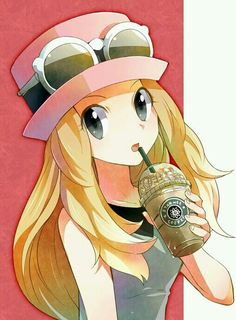 Serena. Pokemon X and Y. #anime