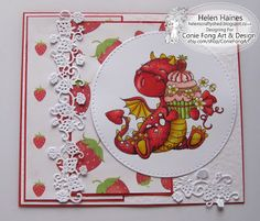 Helen's Crafty Shed: Tori the Dragon - Birthday Girl