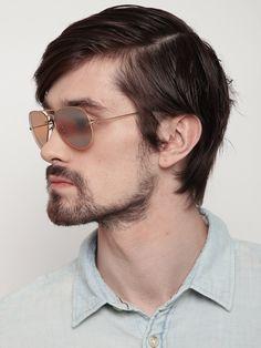 9eef4e6f3 Moda Óculos Polarizados Homens Marca Designer Óculos de Sol Piloto ...