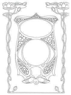 Die 160 Besten Bilder Von Jugendstil Ornamente Art Nouveau Design