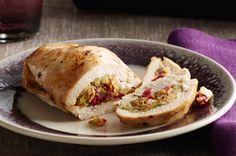 Cranberry-Stuffed Chicken Breasts recipe