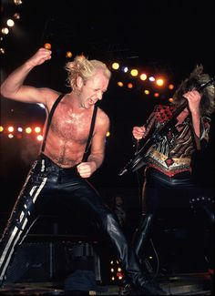 Rob Halford and Glenn Tipton - Judas Priest