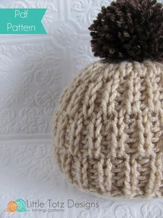 Looking for your next project? You're going to love Soft and Snuggly Beanie by designer totzhatz.