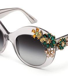Dolce & Gabbana Eyewear . Aren't these amazing?