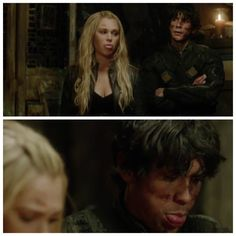 The 100 season 3 bloopers. They're so adorable awe