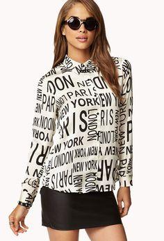 Big City Shirt | FOREVER21