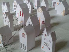 L'Art de la Curiosité: Un village pour Noël
