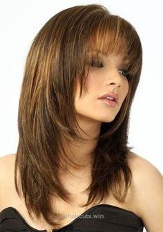 Adorable 2017 female wavy hair cut | Stylish Medium Layered Haircuts – Haircuts and hairstyles for 2017 … The post 2017 female wavy hair cut | Stylish Medium Layered Haircuts – Hairc ..