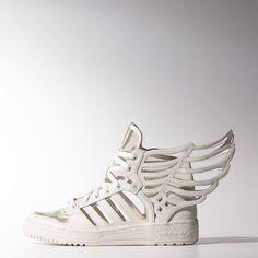e980a05e6d8 Adidas Jeremy Scott JS Wings 2.0 CUTOUT Trainers Sneakers UK 8 TL3