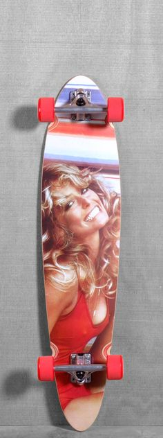 "Dusters 40"" Farrah Fawcett Longboard"