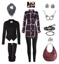 Fashion by binasa87 on Polyvore featuring Rails, Vero Moda, H&M, Michael Antonio, French Connection, Dsquared2, Chan Luu, Bling Jewelry, David Yurman and Dianora Salviati