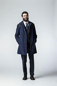 Begin12月号に冬の新作コートが紹介されています! | マッキントッシュフィロソフィー MEN | MACKINTOSH PHILOSOPHY