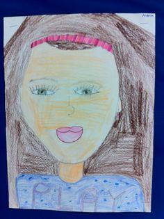 Grade 3 self portrait