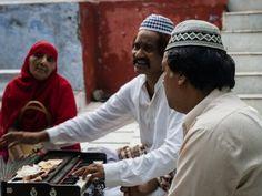Qawwali singers in the Dargah, Mehrauli, New Delhi, India