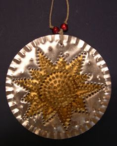 Rustic Metal Stars Embossed Mexican Tin Stars by FoilingStar ...