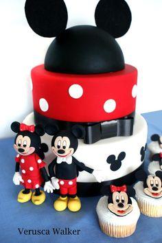 Mouse Cake by Verusca.deviantart.com on @deviantART
