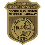 George Washington Memorial Parkway Junior Ranger badge