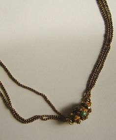 Stuff Recovered From the Titanic | -plated necklace which was recovered from the wreckage of the Titanic ...