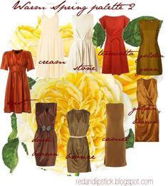 """Warm Spring palette 2"" by carolgrant on Polyvore"