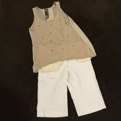 "Women's below the knee dress shorts Great condition in seem 14"" Chime Pants Capris"