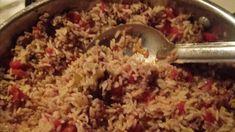 Cajun Dirty Rice Recipe | Allrecipes Cajun Dirty Rice Recipe, Cooking For A Crowd, Rice Recipes, Ground Beef, Cornbread, Spicy, Oatmeal, Breakfast