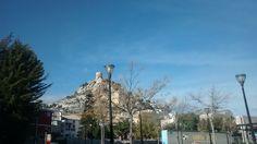 The castle of Banyeres de Mariola