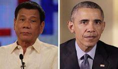 Insulta presidente de Filipinas a Barack Obama, previo a una cumbre