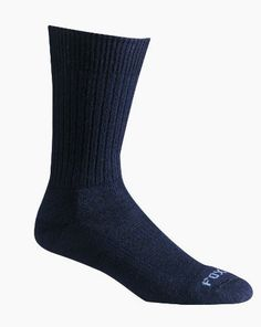 Fox River Bilbao Crew Socks, #Black, Medium Made by #Fox River Color #Black. Medium #weight. Spandex compression arch holds form and provides support. Reinforced toe and heel add comfort and longer sock life. Fully cushioned sole absorbs shocks and insulates