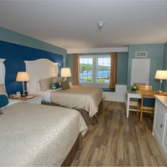 Watkins Glen Harbor Hotel, the choice for luxury Finger Lakes hotels on the south end of Seneca Lake. Watkins Glen Harbor Hotel, Watkins Glen New York, Lake Hotel, Seneca Lake, Queen Room, Wine Country, Indoor, Luxury, Furniture