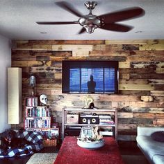 Lovely wall! (Everything by Patrick J. Adams)